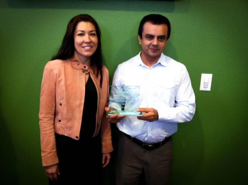 Quest Rewards Employee Of The Quarter - 2012 Q4